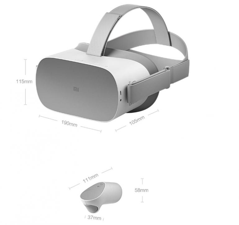 Xiaomi анонсировала собственную гарнитуру виртуальной реальности Mi VR Standalone стоимостью от $234
