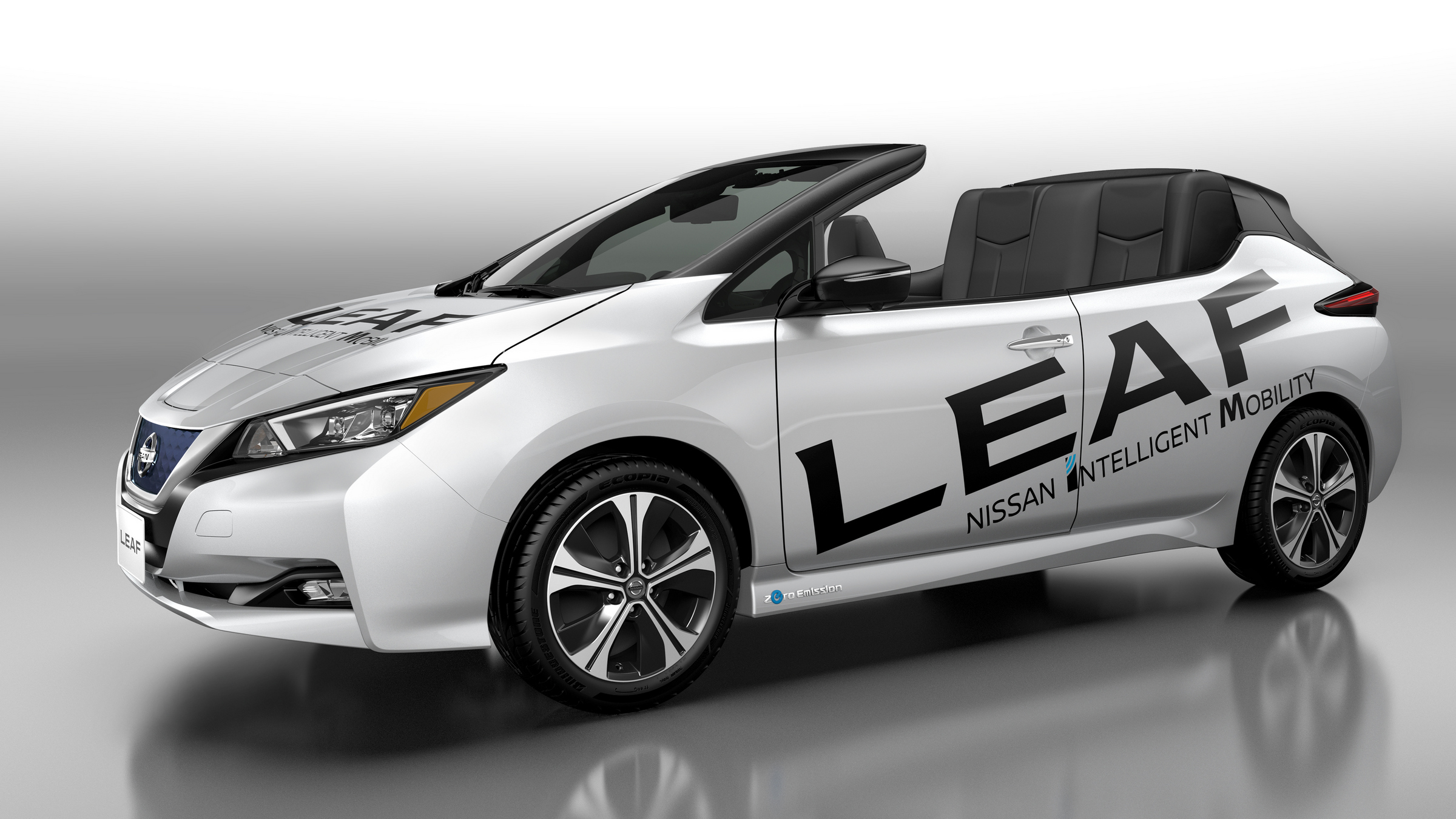 car electric leaf the watch nissan with silent ride