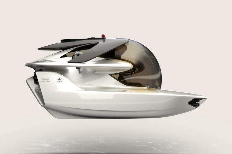 Aston Martin завершил разработку электрической субмарины Project Neptune стоимостью $4 млн, публичная демонстрация коммерческой версии состоится до конца года