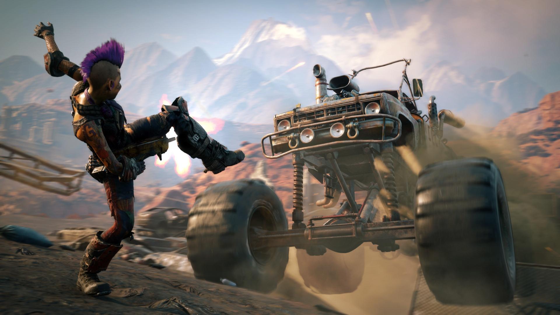 Rage 2 выйдет весной 2019 года разработкой занимаются id Software и Avalanche Studios опубликован первый геймплейный трейлер