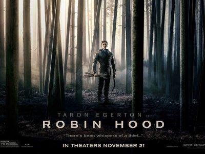 Первый трейлер фильма Robin Hood / «Робин Гуд» с Тэроном Эджертоном в главной роли