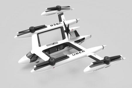 Uber продемонстрировал обновленную концепцию своего летающего такси