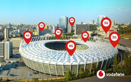 Vodafone запустил самую крупную indoor-сеть в Украине на киевском стадионе НСК «Олимпийский»
