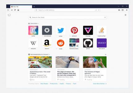 Mozilla снова начнет показывать рекламу на стартовой странице Firefox (уже с 60-й версии)
