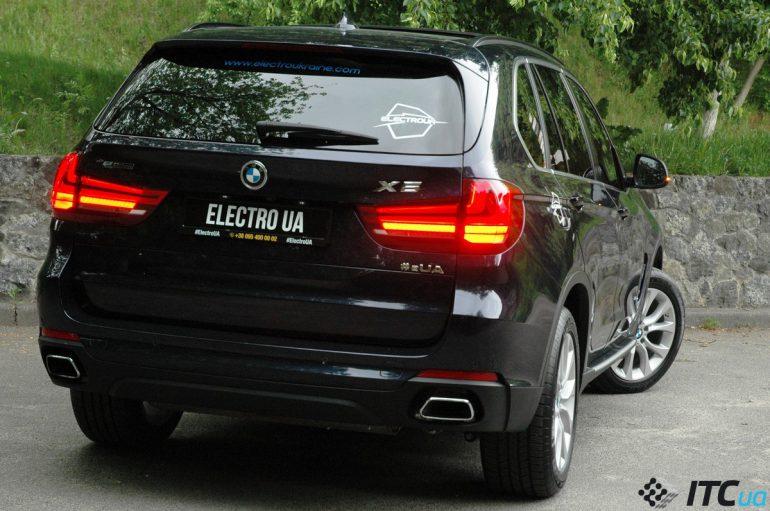 Подзаряжаемый гибрид BMW X5 40e: экспресс-знакомство