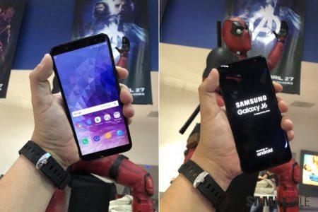 Смартфон Samsung Galaxy J6 (2018) станет своего рода бюджетной копией Galaxy A6 (2018) с 5,6-дюймовым экраном Infinity Display (живые фото новинки)