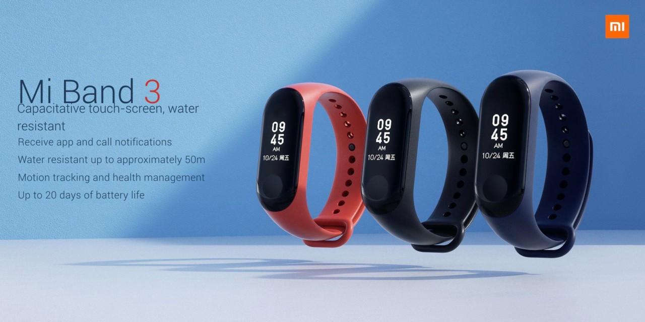 Обновлено: Представлен фитнес-браслет Xiaomi Mi Band 3. Модуль NFC есть, но неясно, будет ли он работать за пределами Китая