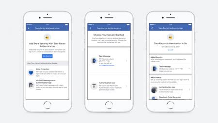 Facebook упростила двухфакторную аутентификацию для тех, кто не хочет указывать номер мобильного телефона