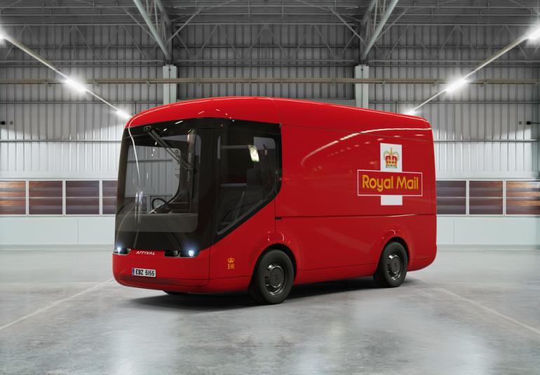 Служба доставки UPS будет использовать футуристичные электрофургоны Arrival в Париже и Лондоне