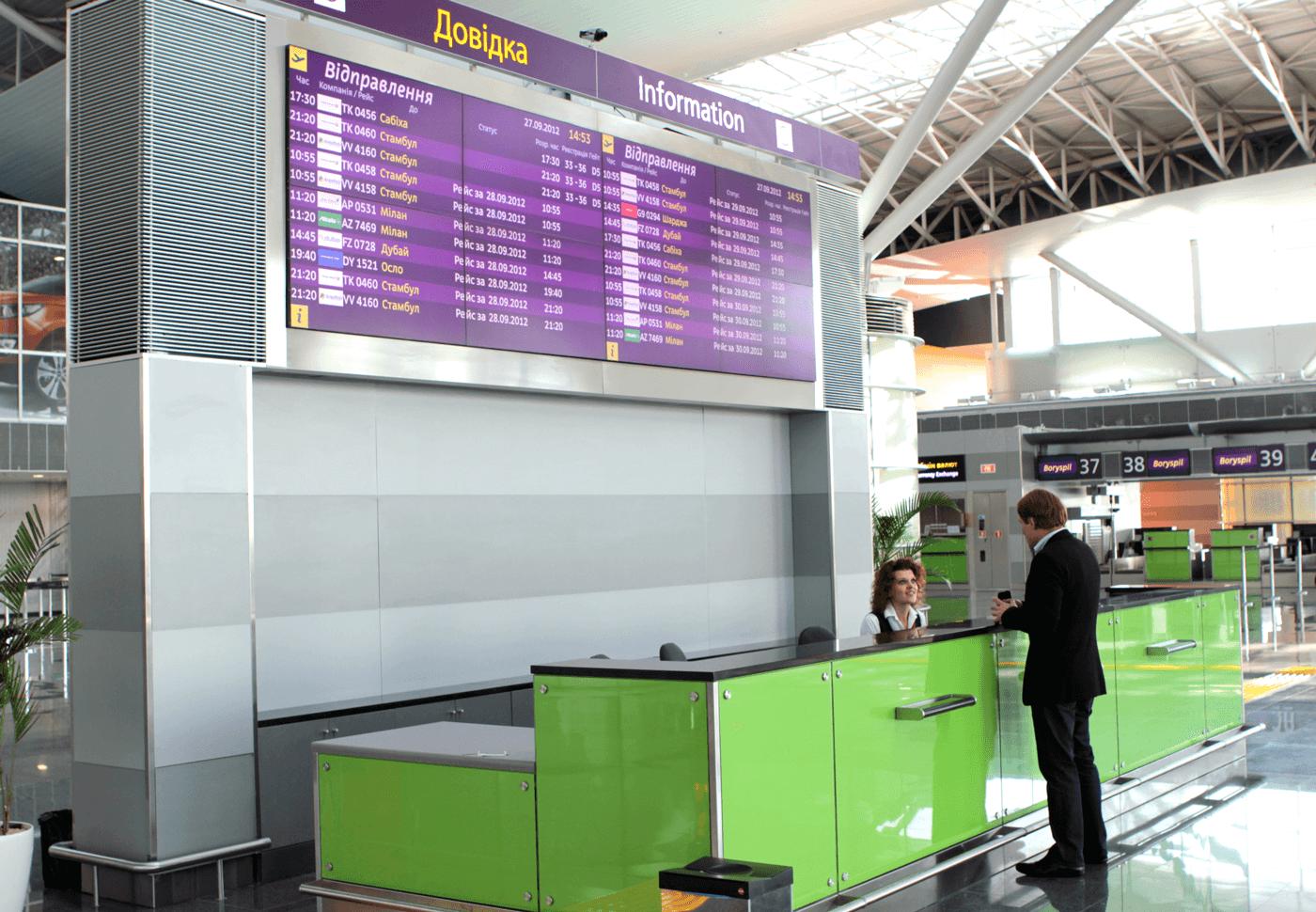 Борисполь вырвался на третье место в рейтинге крупнейших аэропортов второй категории ACI Europe