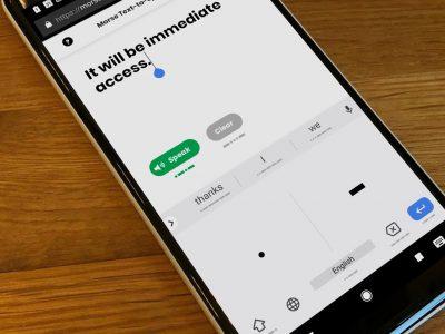 Google добавила поддержку азбуки Морзе в клавиатуру Gboard для Android