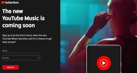 На следующей неделе запустят новый YouTube Music, который в итоге заменит собой Google Play Music