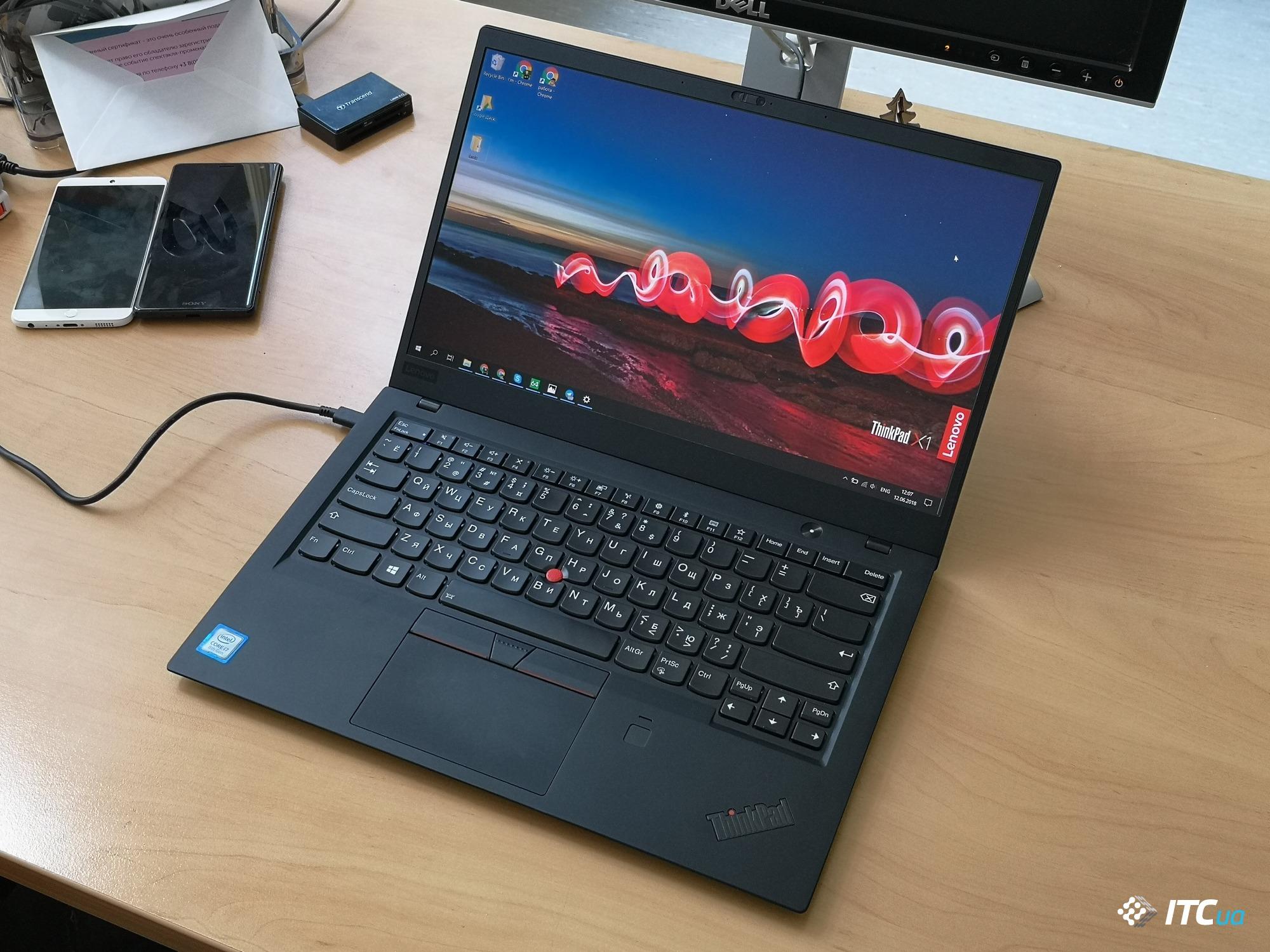Lenovo Thinkpad X1 Carbon — ZwiftItaly