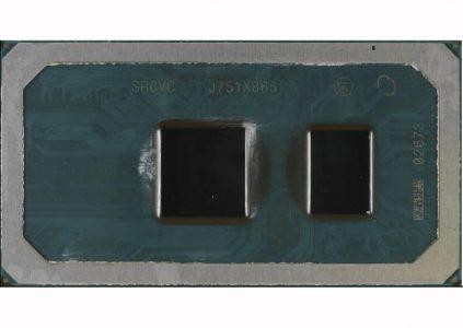 На фото запечатлён процессор Intel Cannon Lake, изготовленный по 10-нм техпроцессу