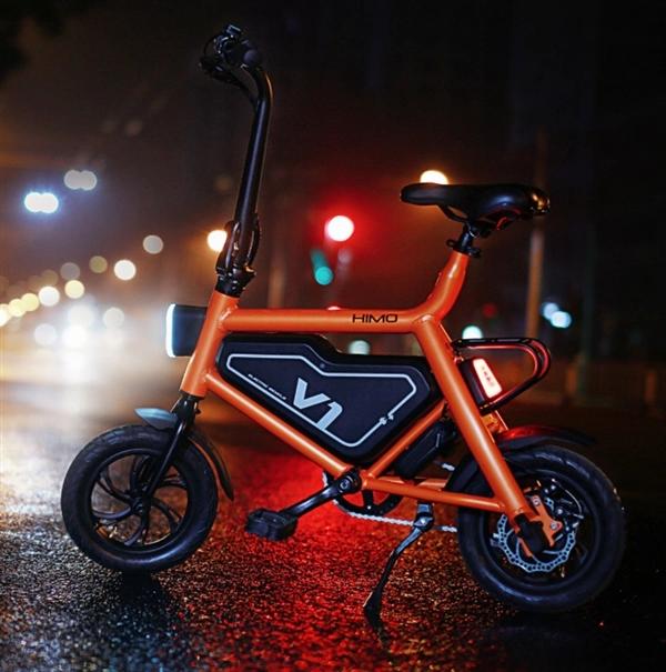 Компактный электрический велосипед Xiaomi Himo с дальностью хода 50 км стоит $260