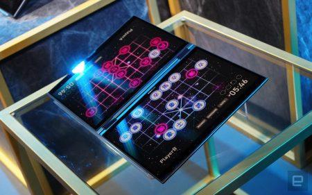 ASUS представила Project Precog – концептуальный портативный компьютер с двумя экранами, ИИ, но без клавиатуры