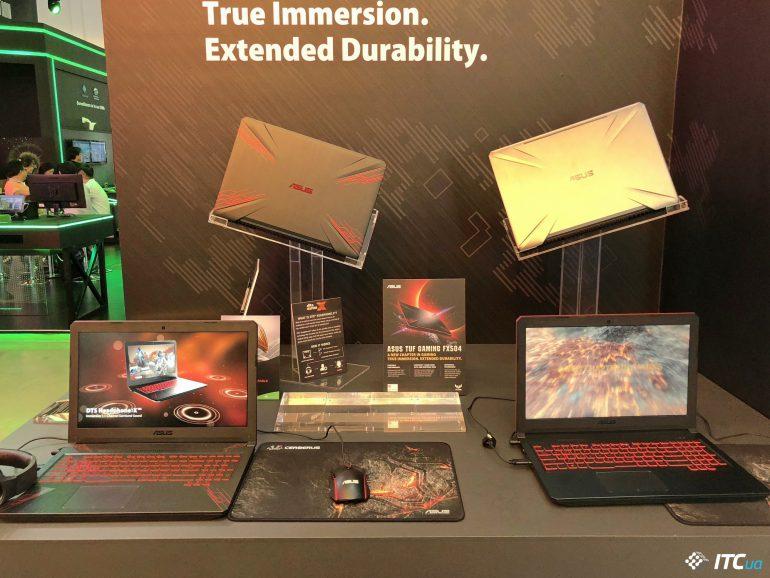 e4163a019e98 Завершая с устройствами линейки TUF GAMING, отметим и первый игровой  ноутбук серии – ASUS TUF GAMING FX504. Для этой модели используются уже  новые чипы Core ...