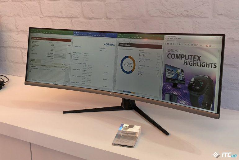Поиграть и поработать: новые мониторы ASUS на Computex 2018