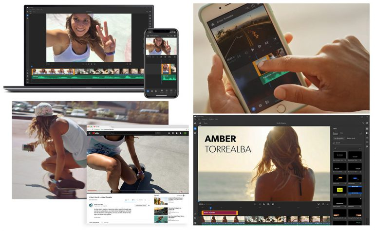 Adobe анонсировала кроссплатформенный видеоредактор Project Rush с простым интерфейсом для десктопов и смартфонов
