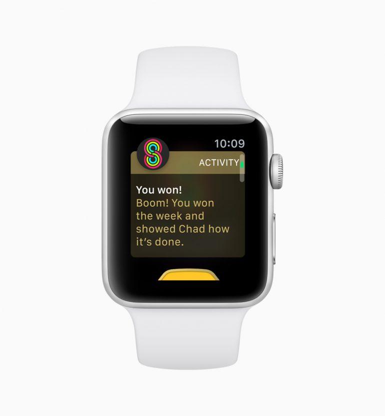 watchOS 5: обновленные результаты и уведомления, автоматическое определение типа активности, рация Walkie-Talkie, Activity Sharing и др.