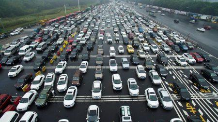 Китай начинает оснащать автомобили RFID-метками для отслеживания трафика, с 2019 года эта система станет обязательной