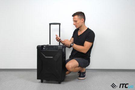 Обзор портативной акустической системы F&D T2