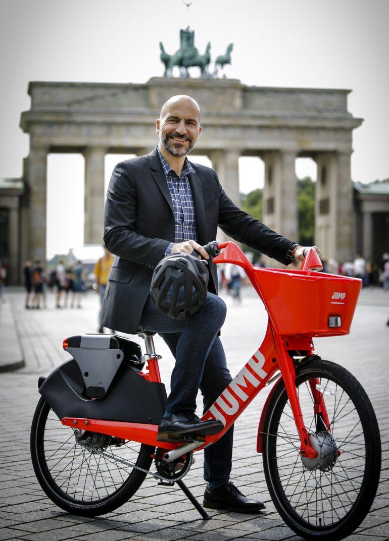 До конца лета Uber запустит сервис по прокату электровелосипедов JUMP в Европе