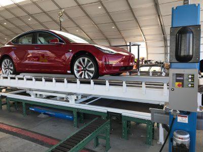 Tesla нарастила производство Model 3 до 3500 автомобилей в неделю