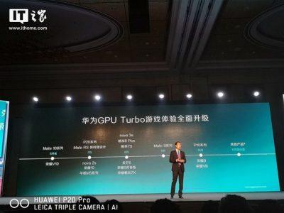 Huawei объявила список смартфонов, которые вскоре получат поддержку технологии разгона графики GPU Turbo - ITC.ua