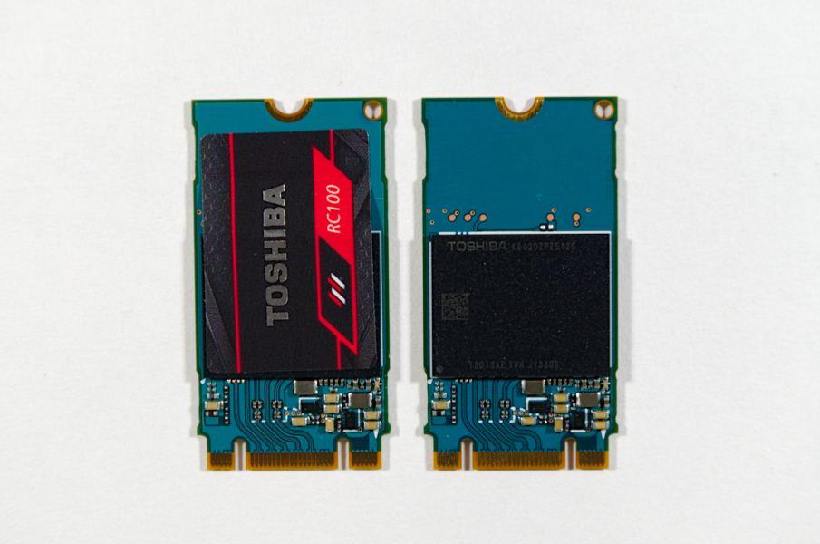 Ѕюджетные SSD Toshiba RC100 типоразмера M.2 с поддержкой NVMe сто¤т от И50 до И130
