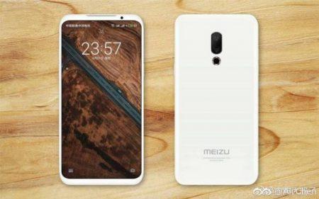 Опубликовано новое изображение смартфона Meizu 16. Производитель признал провал модели Meizu Pro 7 с двумя экранами