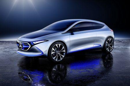 Mercedes опубликовала новые видео своих электромобилей EQ и EQA в реальной жизни