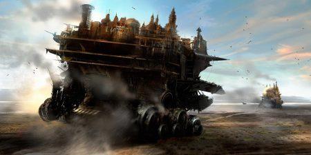 Полноценный трейлер фантастического фильма Mortal Engines / «Хроники хищных городов» от Питера Джексона