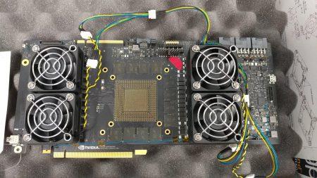 GPU видеокарты NVIDIA нового поколения по размерам будет почти в полтора раза больше предшественника