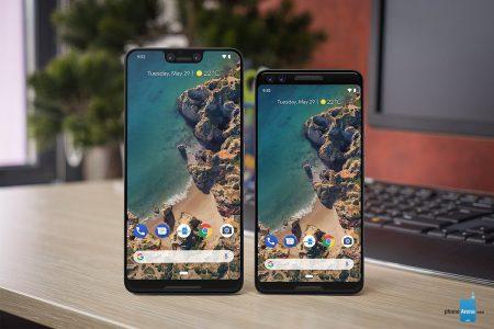 Смартфон Google Pixel 3 получит 5,3-дюймовый классический экран, а Pixel 3 XL — 6,2-дюймовый экран с челкой