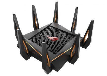 ASUS анонсировала три роутера с поддержкой 802.11ax и пиковой пропускной способностью от 6000 до 11000 Мбит/с