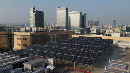 Самсунг планирует на100% перейти навозобновляемые источники энергии