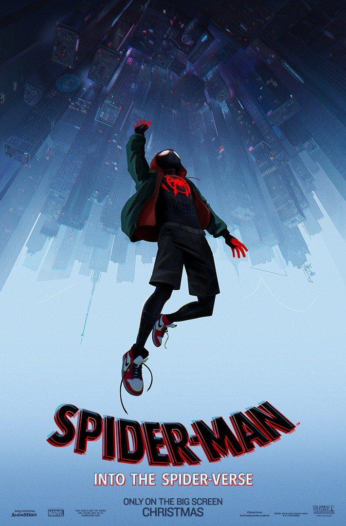 """Трейлер анимационного фильма Spider-Man: Into the Spider-Verse / """"Человек-Паук: Через вселенные"""" от Фила Лорда и Кристофера Миллера"""