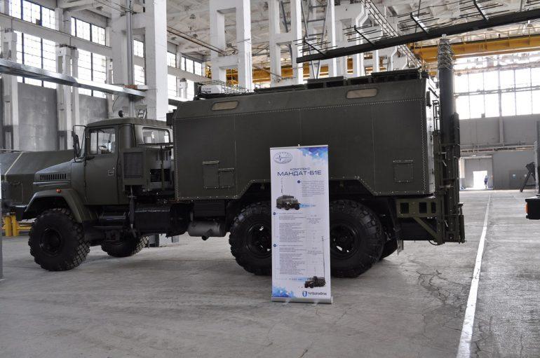 """""""Укроборонпром"""" представил новейшие модели систем радиолокации и радиоэлектронной борьбы - ITC.ua"""