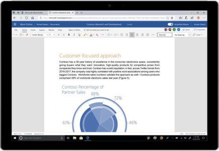Microsoft анонсировала обновление дизайна сервисов Word, Excel, PowerPoint, OneNote и Outlook