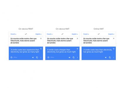 Google улучшила офлайн перевод в приложении Translate - ITC.ua