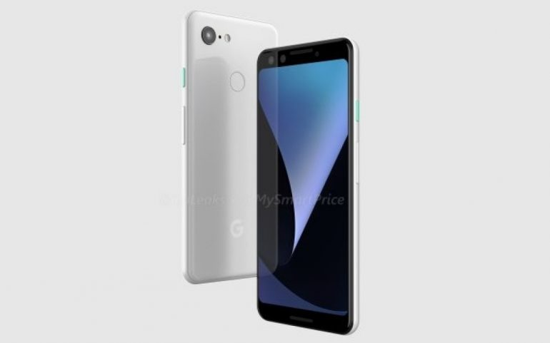 Утечка рендеров раскрывает дизайн смартфонов Google Pixel 3 и Pixel 3 XL
