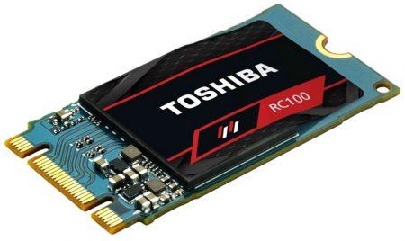 Бюджетные SSD Toshiba RC100 типоразмера M.2 с поддержкой NVMe стоят от €50 до €130 - ITC.ua