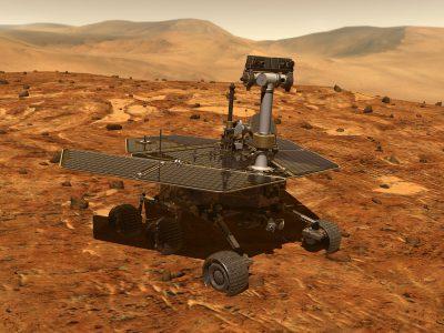 Марсоход Opportunity в глубоком «анабиозе» из-за грандиозной пылевой бури, но еще не все потеряно
