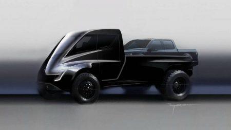 Илон Маск: Tesla Pickup получит пару электродвигателей с «сумасшедшим» крутящим моментом, полный привод, адаптивную подвеску, 400-500 миль запаса хода, автопилот и т.д.