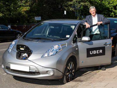 Uber будет доплачивать американским водителям, которые пользуются электромобилями для перевозки клиентов