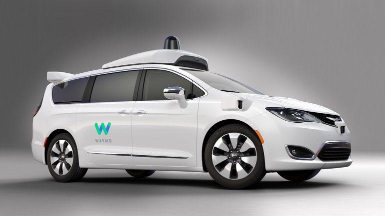 Waymo заказала 62 тыс¤чи минивэнов Chrysler Pacifica дл¤ своей службы беспилотных такси, первые экземпл¤ры постав¤т уже в конце 2018 года
