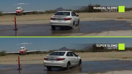Созданный NVIDIA алгоритм превращает обычные видео в замедленные, дорисовывая промежуточные кадры