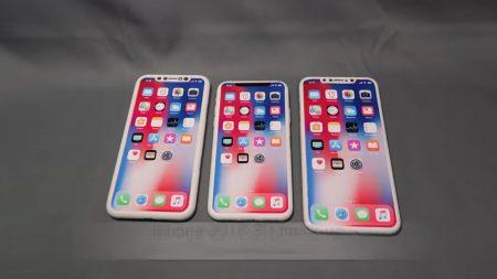Видеоролик демонстрирует макеты финальных версий новых iPhone во всех деталях
