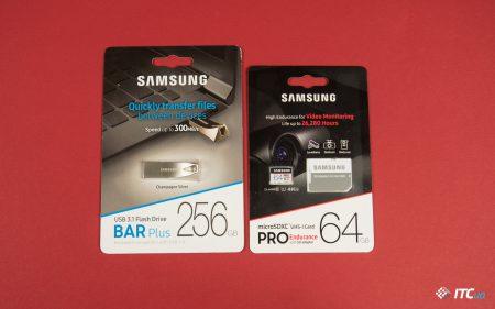 Знакомимся с картой памяти повышенной надёжности Samsung PRO Endurance и высокоскоростным USB флеш-накопителем Bar Plus